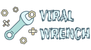 viral wrench logo